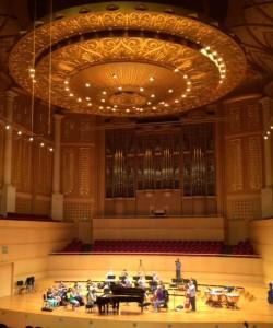 Wuhan concert hall