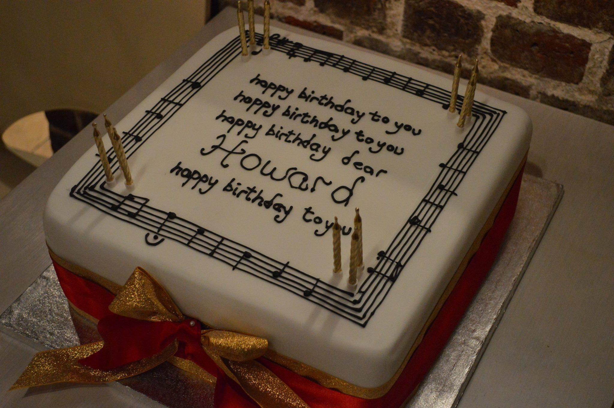 Happy Birthday Howard Shelley LMP Conductor Laureate London Mozart Players