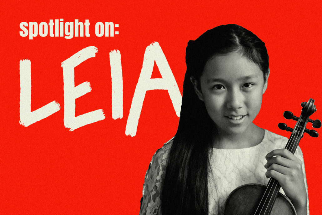 Live Concert: Spotlight on…Leia
