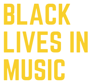 Black Lives in Music Logo
