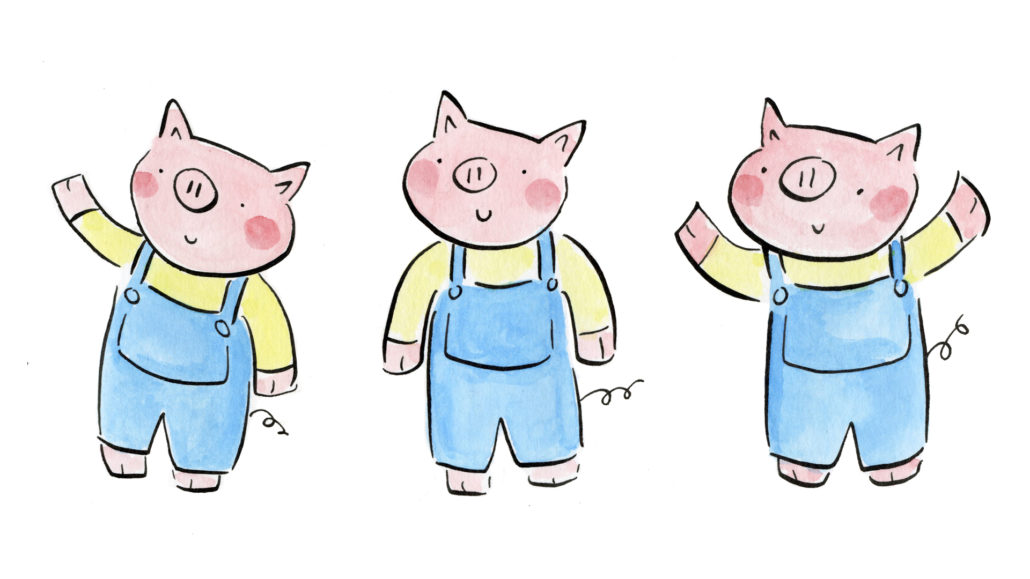 Dirty Beasts & The Three Little Pigs